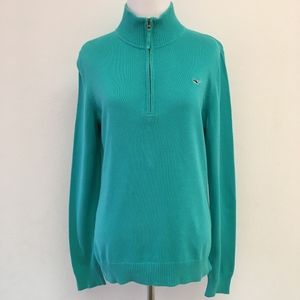 Vineyard Vines Aqua Pullover Knit Sweater Size L